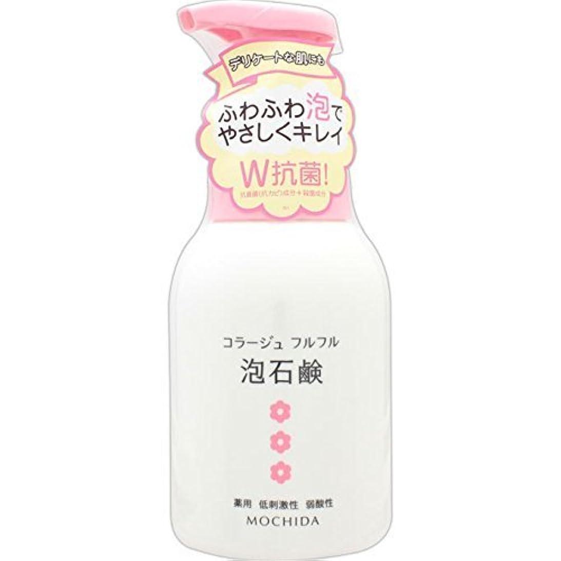ルールクリスマスコラージュフルフル 泡石鹸 ピンク 300m L (医薬部外品) ×4