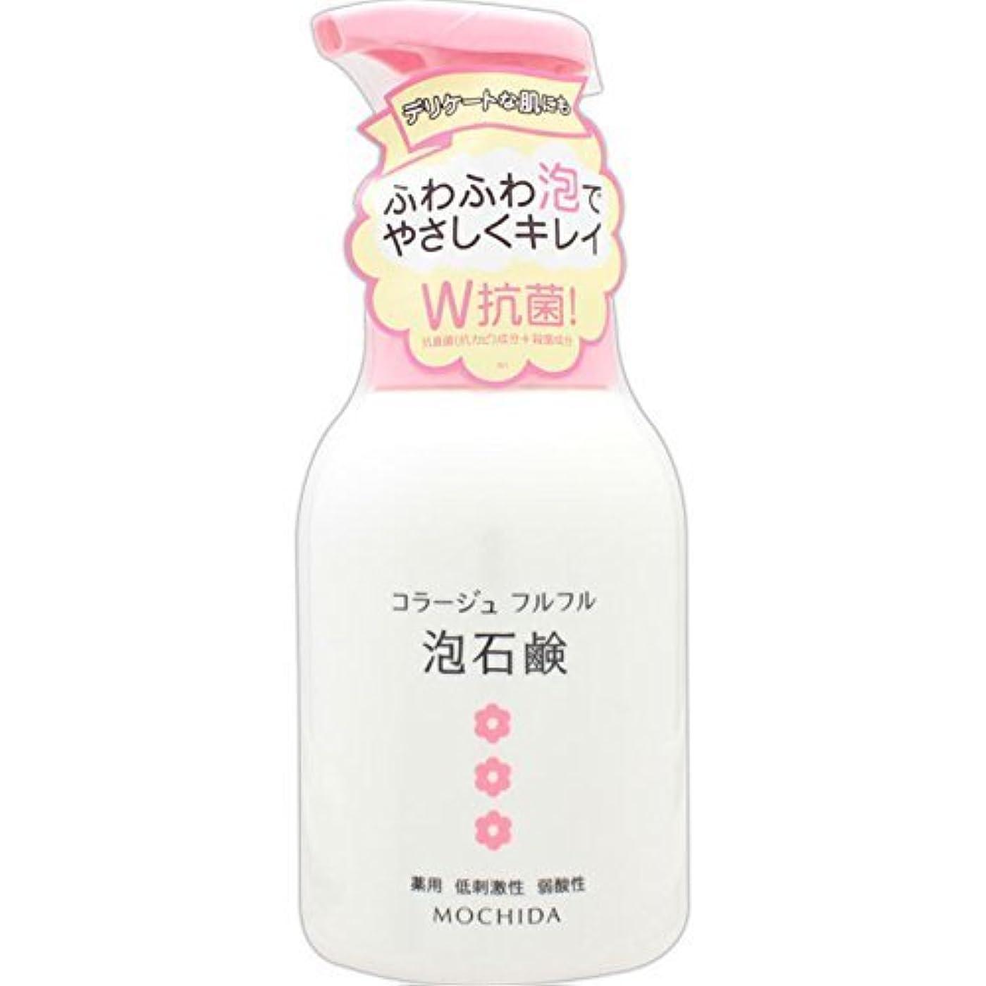 ベテラン平和清めるコラージュフルフル 泡石鹸 ピンク 300m L (医薬部外品) ×6