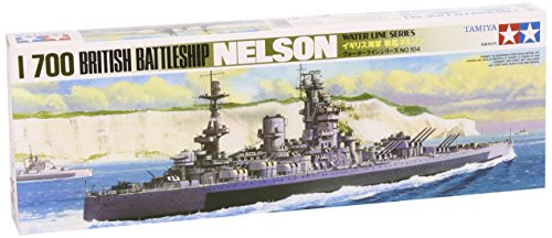 タミヤ 1/700 ウォーターラインシリーズ No.602 イギリス海軍 戦艦 ネルソン プラモデル 77504