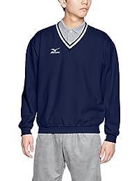 (ミズノ) MIZUNO テニスウェア Vネックスウェットシャツ A75LM250[ユニセックス]