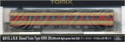 TOMIX Nゲージ キロ28-2300 帯入り 8415 鉄道模型 ディーゼルカー