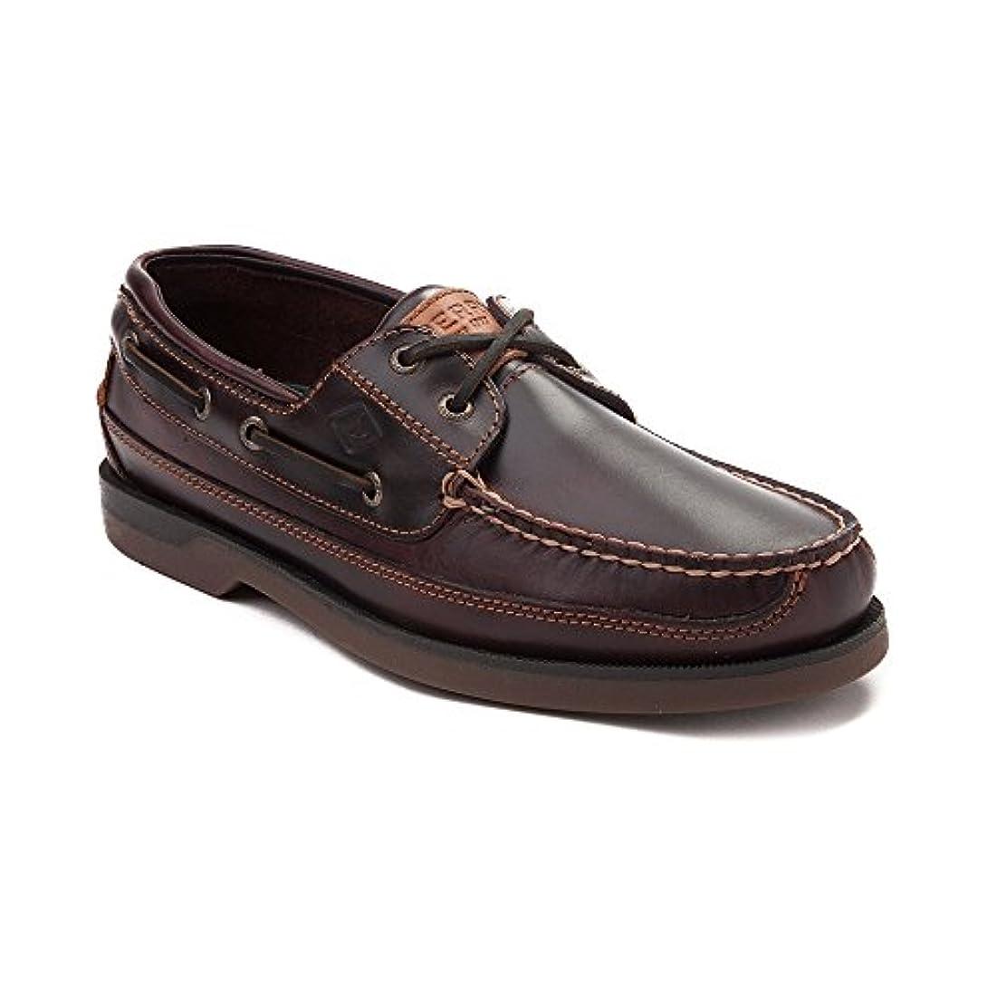 レギュラー罪人幽霊[SPERRY TOPSIDER(スペリートップサイダー)] 靴?シューズ メンズボートシューズ Mens Sperry Top-Sider Mako Boat Shoe ブラウン US 7.5 (25.5cm)