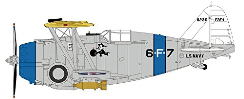 ホビーマスター 1/48 F3F-1 アメリカ海軍 VF-6B USS サラトガ 完成品