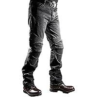 パンツ ロングパンツ バイクパンツ メンズ バイク バイクウェア ブラック L Hongli