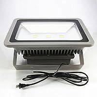 LED投光器 広角 150W 3mコード付き 防水防塵 作業灯 集魚灯 看板灯 PSE認定済 電球色