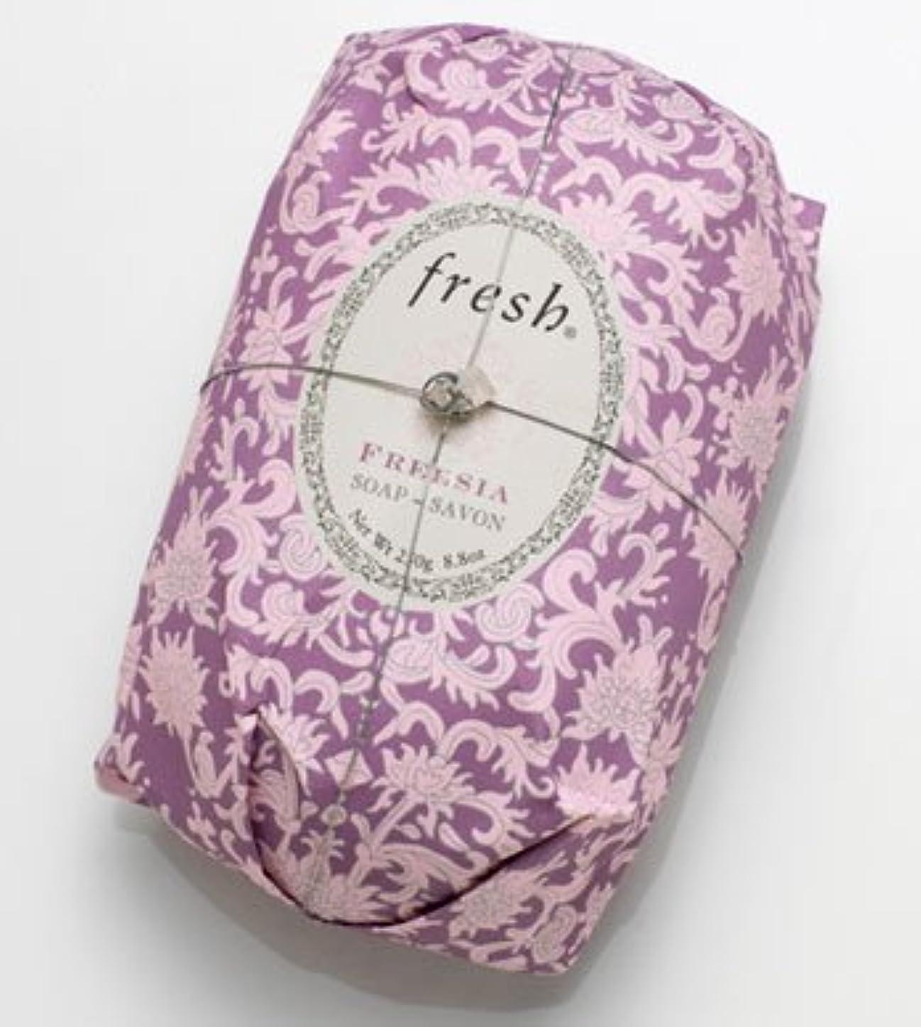 悲しむ新しさホストFresh FREESIA  SOAP (フレッシュ フリージア ソープ) 8.8 oz (250g) Soap (石鹸) by Fresh