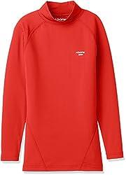 (エーディーワン)A.D.ONE ジュニア発熱ヒートコンプレッションシャツ インナーシャツ ストレッチアンダーシャツ ボーイズガールズ発熱保温インナー ジュニアコンプレッションウェア サーモインナー