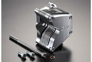 Gクラフト (Gcraft) アルミビレットオイルクーラー横型エンジン用7段 37020