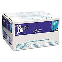 One Gallon Freezer Bag, 2.7 mil, 10-1/2x11, Clear by Ziploc