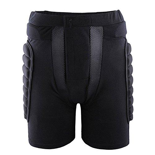 [해외]엉덩이 보호대 팬티 어린 이용 성인용 자전거 스케이드 엉덩이 패드 스포츠 충격 패드 블랙/Hip Protector Shorts Children`s Adult Bicycle Skateboard Hip Pad Sports Shock Resistant Pad Black
