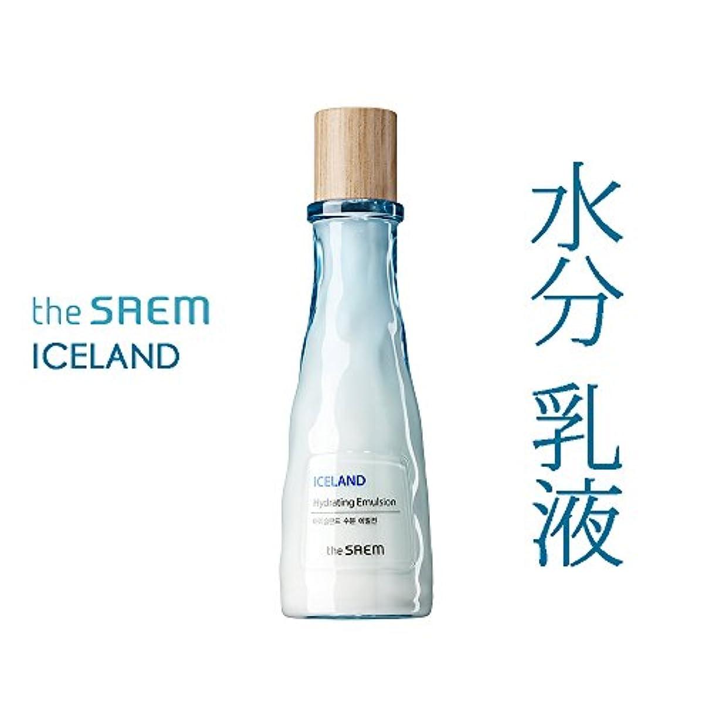 悲しいコール事実上ザ セム The saem アイスランド 水分 乳液 The Saem Iceland Hydrating E mulsion 140ml