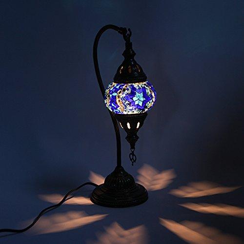 RoomClip商品情報 - トルコ製 モザイクガラス オリエンタル エキゾチック ハンドメイド 吊り下げスタンドランプ 10cm turk0601