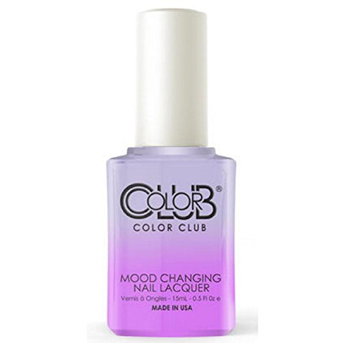 正義の前で既にColor Club Mood Changing Nail Lacquer - Easy Breezy- 15 mL / 0.5 fl oz