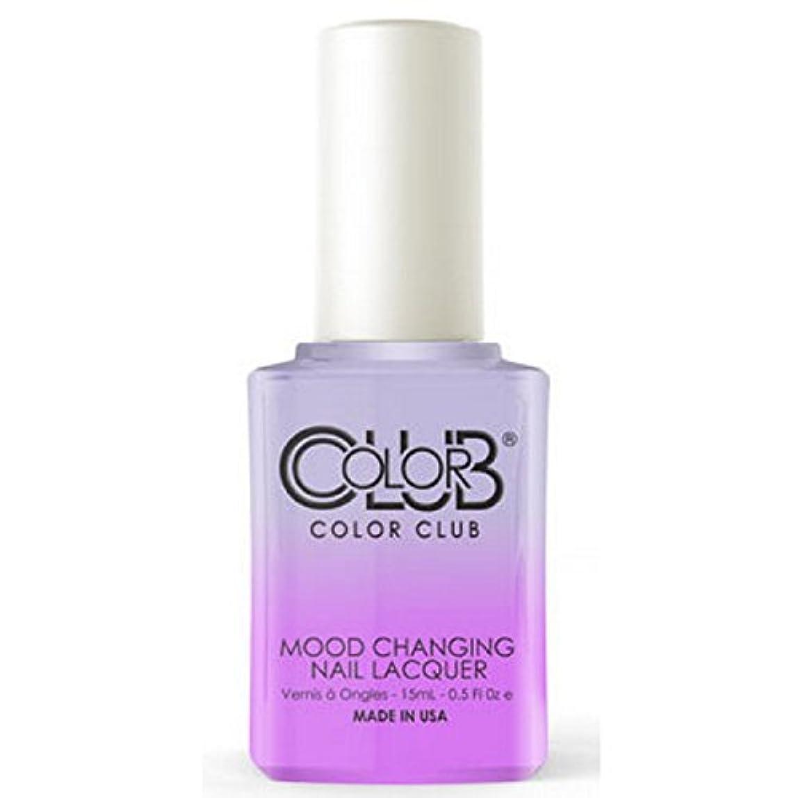 不名誉サラダマーティンルーサーキングジュニアColor Club Mood Changing Nail Lacquer - Easy Breezy- 15 mL / 0.5 fl oz