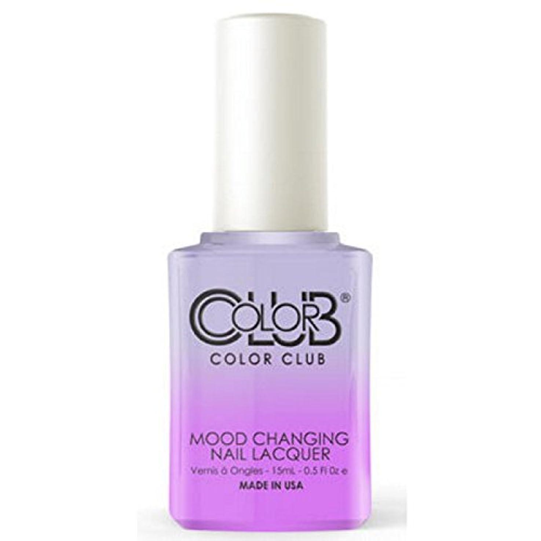 通訳悲観的透けて見えるColor Club Mood Changing Nail Lacquer - Easy Breezy- 15 mL / 0.5 fl oz