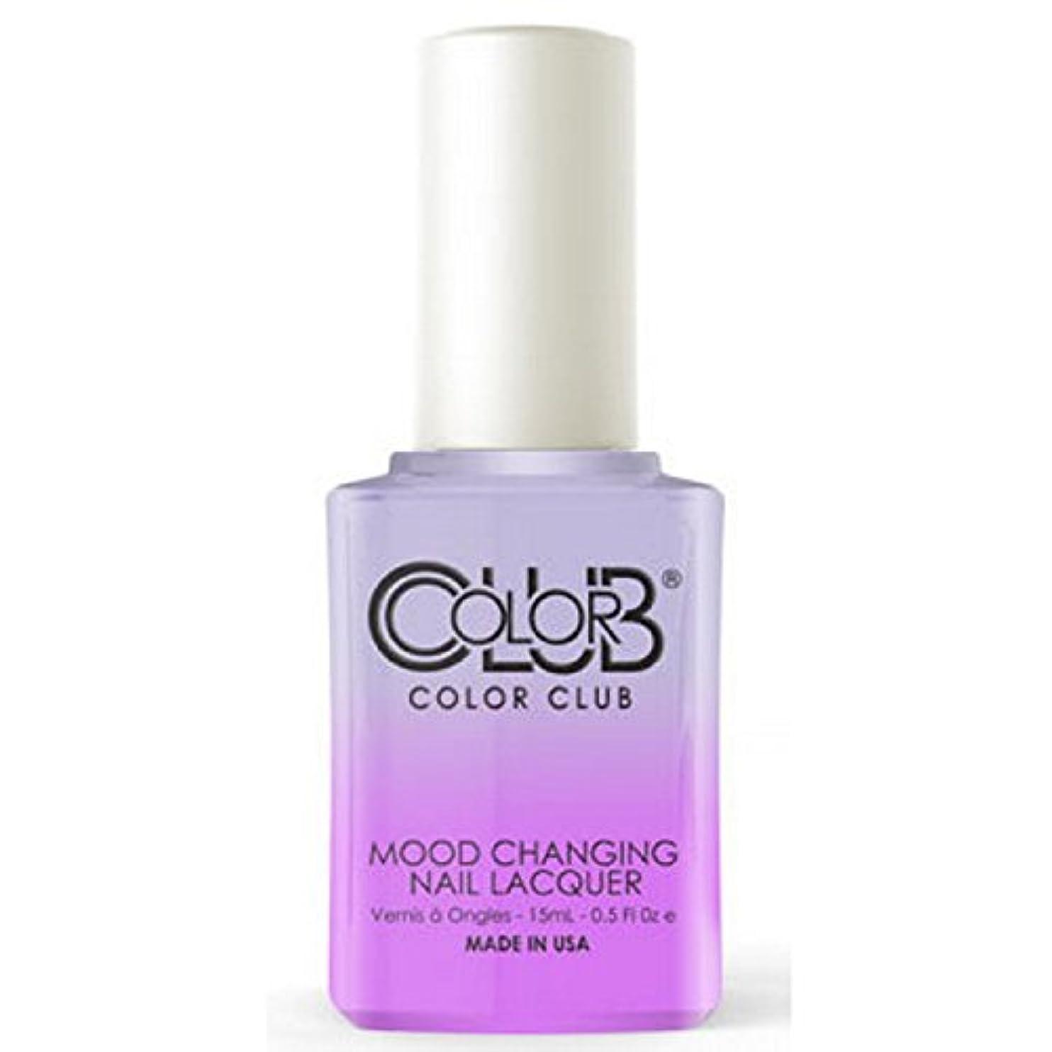 汚染されたモータースズメバチColor Club Mood Changing Nail Lacquer - Easy Breezy- 15 mL / 0.5 fl oz