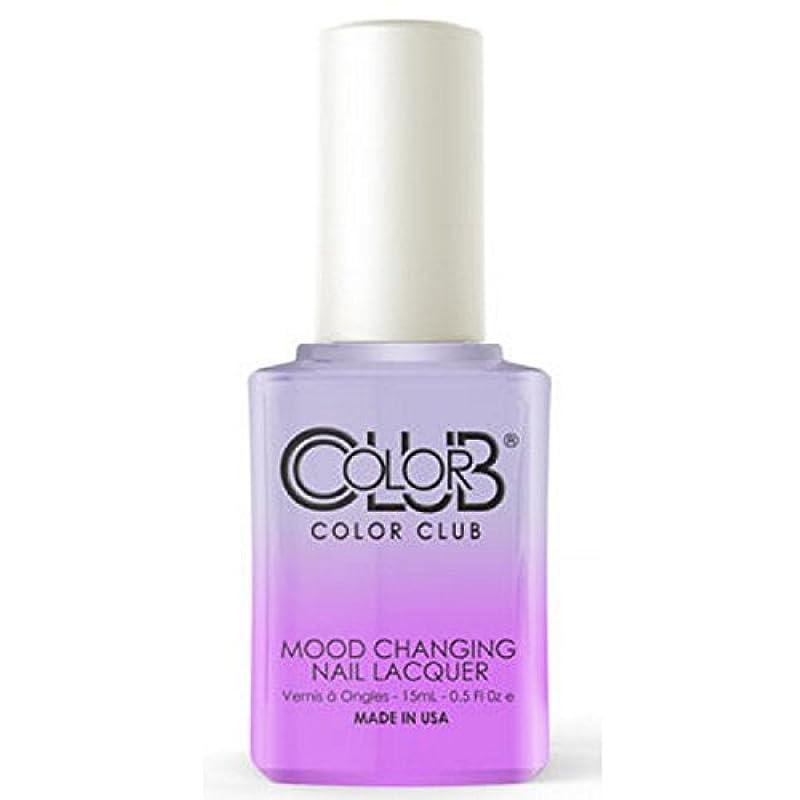 ベッツィトロットウッド眉メジャーColor Club Mood Changing Nail Lacquer - Easy Breezy- 15 mL / 0.5 fl oz