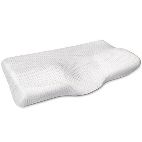 MOFIR 枕 低反発 まくら マクラ 首・頭・肩をやさしく支える 健康枕 ヘルスケア枕 人間工学設計 いびき防止 頭痛改善 肩こり対策 安眠 快眠 仰向き横向き対応 洗える ピロー
