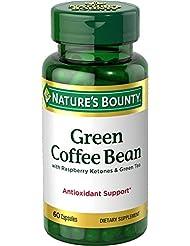 Nature's Bounty Green Coffee Bean with Raspberry Ketones & Green Tea, 60 Caplets 海外直送品