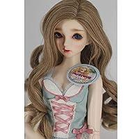 D DOLITY 全8色ドールウィッグ人形かつら1/3 BJD SdのDzのドッドLUTSドルフィー人形用ヘアピース - #1
