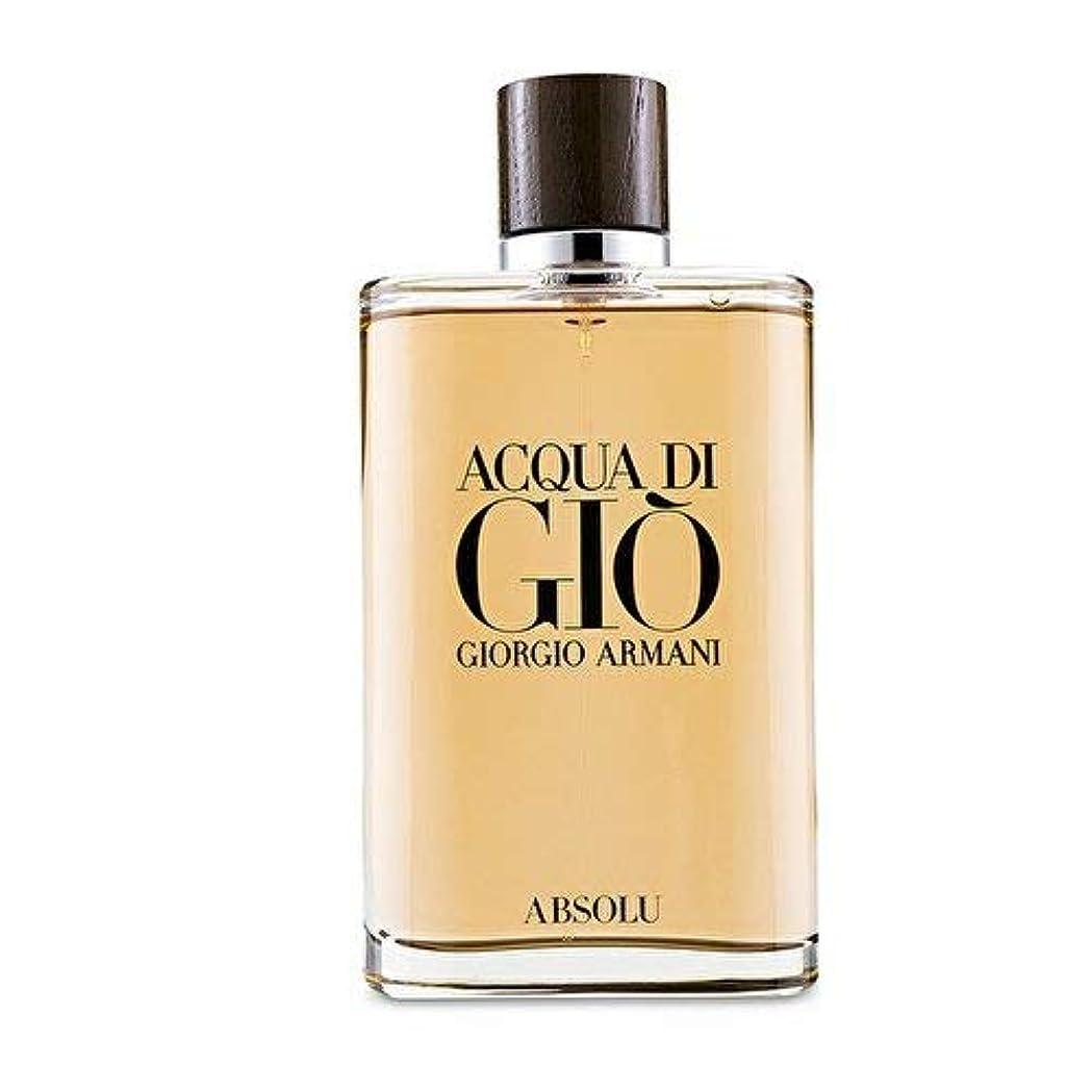 更新するリスナー区画ジョルジオアルマーニ Acqua Di Gio Absolu Eau De Parfum Spray 200ml/6.7oz並行輸入品