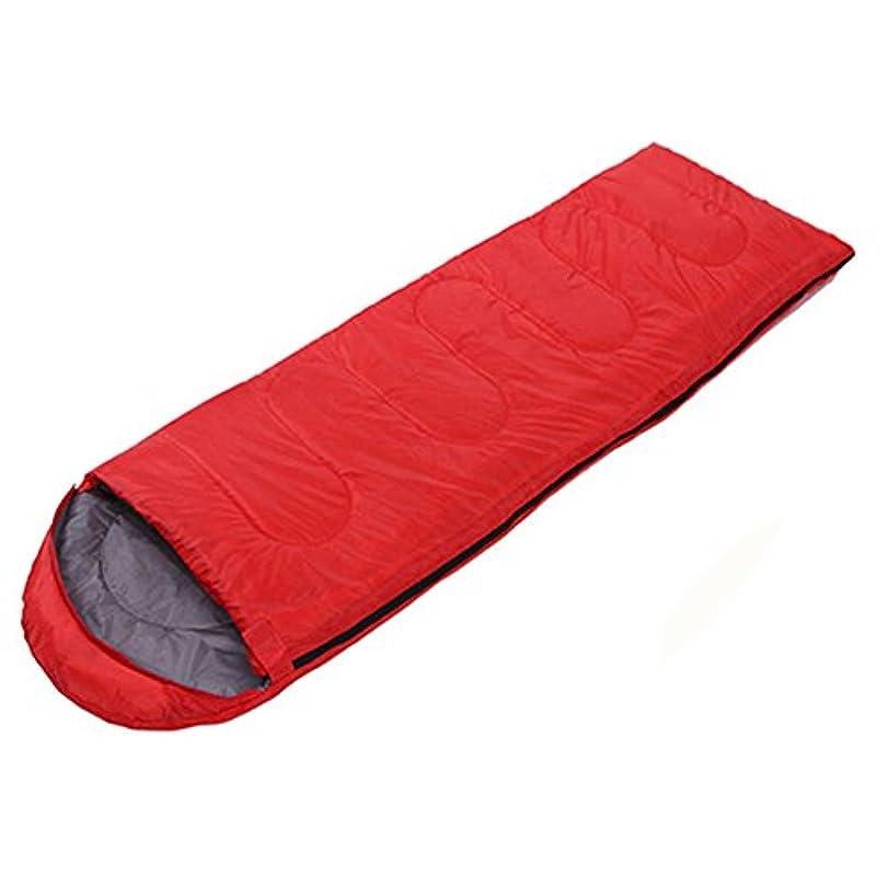 ディベートヘビーゲートLJHA shuidai 寝袋アダルトキャンプ寝袋春の室内テント寝袋 (色 : Red)