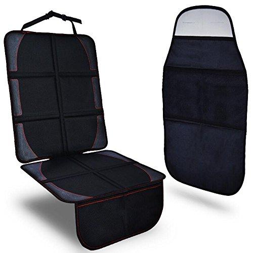 CARARE (カリアン) チャイルドシートカバー キックガード 2点セットISOFIX車類対応 CA-1