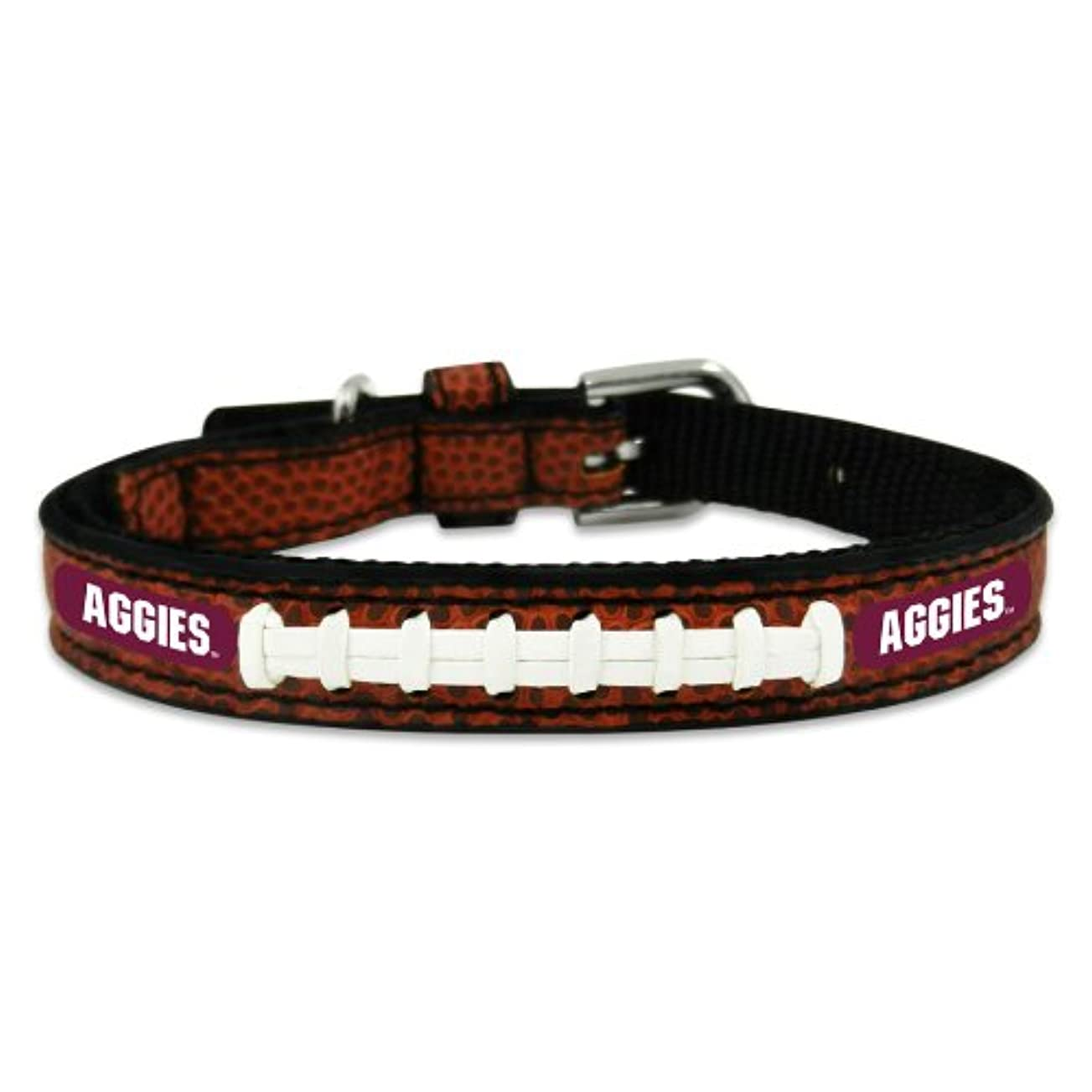 特徴づける架空のスラムTexas A&M Aggies Classic Leather Toy Football Collar