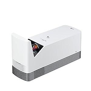 LG レーザー 超短焦点 プロジェクター(寿命約20,000時間/フルHD/1500lm/Bluetooth対応/3.0kg) HF85JG