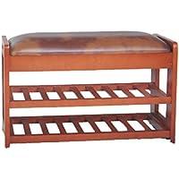 2層ソリッドウッドの靴のベンチ、 引き出し付きPUソフトクッション 雑貨を入れることができます 71 * 28 * 45CM (色 : C, サイズ さいず : 28 * 45 * 71CM)