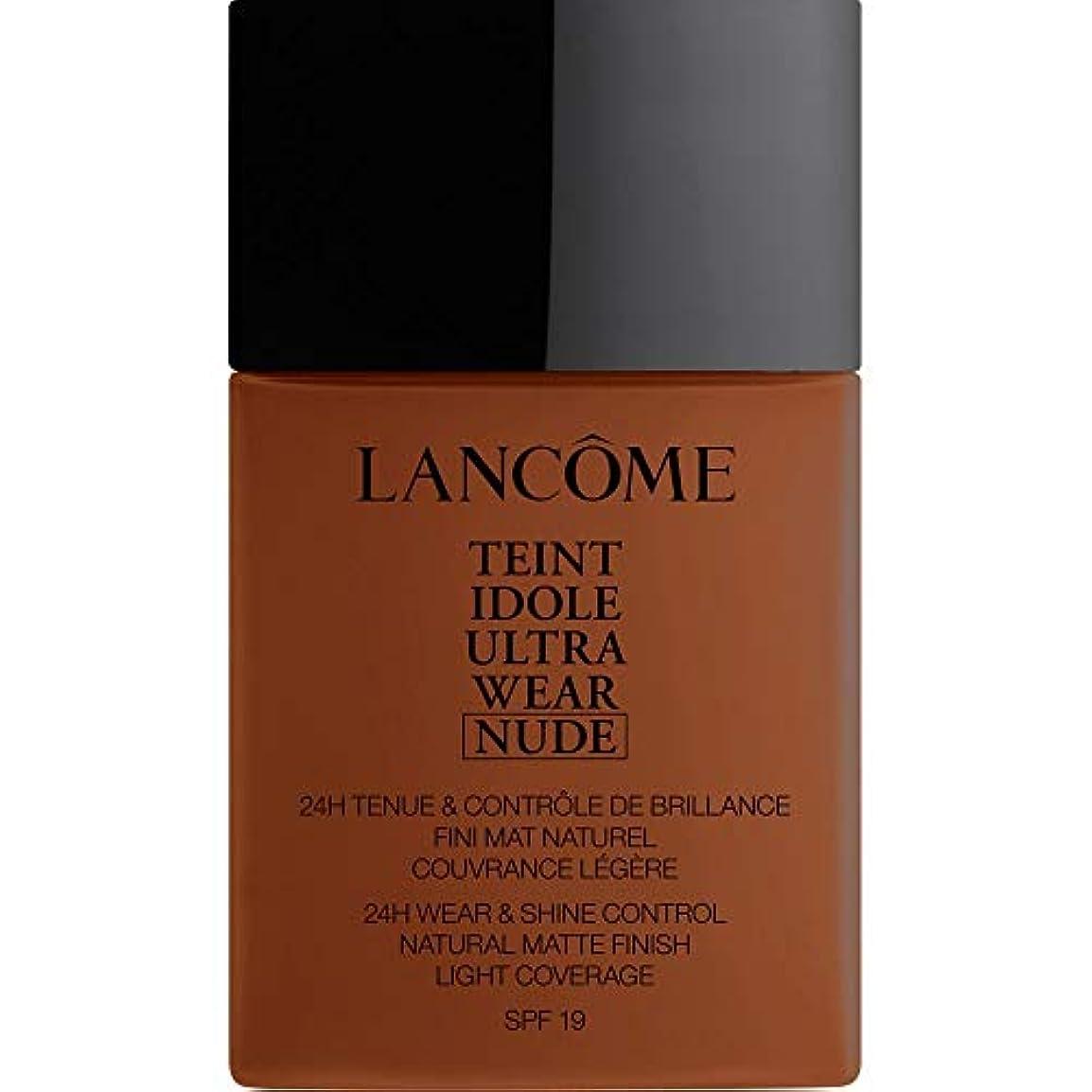 セント雪だるまを作るクリーナー[Lanc?me ] ランコムTeintのIdole超摩耗ヌード財団Spf19の40ミリリットル13.3 - サンタル - Lancome Teint Idole Ultra Wear Nude Foundation SPF19...