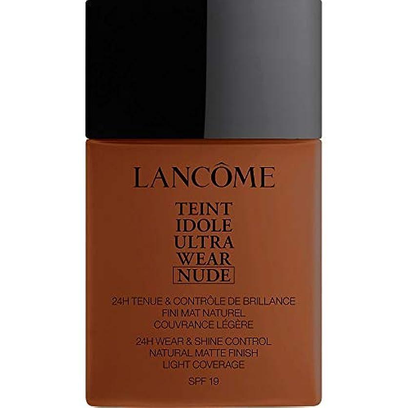 リースベッドを作る活気づく[Lanc?me ] ランコムTeintのIdole超摩耗ヌード財団Spf19の40ミリリットル13.3 - サンタル - Lancome Teint Idole Ultra Wear Nude Foundation SPF19...