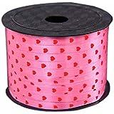 [ピンクハート] 2ロール100ヤード装飾バルーンカールRibbons forパーティー
