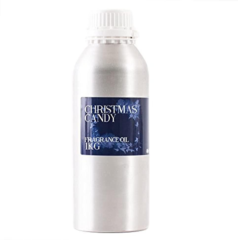 申し立てスペクトラムなしでMystic Moments | Christmas Candy Fragrance Oil - 1Kg
