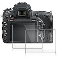 Nikon D750 用 液晶プロテクター AFUNTA NikonD750 用 液晶保護フィルム 一眼レス ガラスフィルム デジカメ用保護フィルム 2枚入り