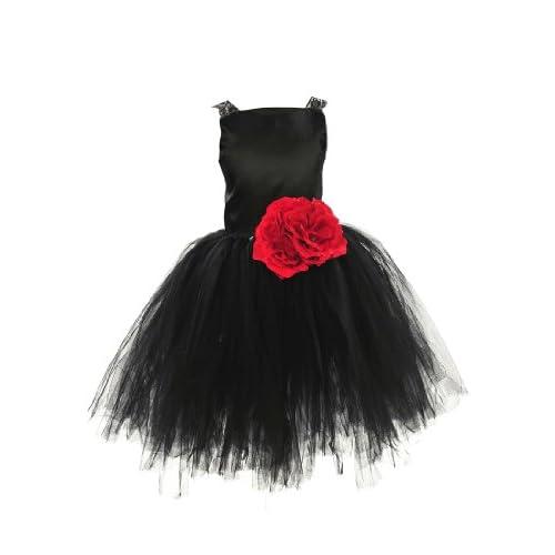 Topwedding(トップウェディング) 子供ドレス キッズドレス 結婚式 発表会/女の子のサマードレス130013-L,ノワール
