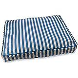 """Ethical Pets 32902 Sleepzone Pillow Dog Bed, 29"""", Cabana Blue"""