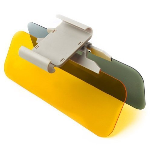 HSS 2 in 1 Car Transparent Anti-glare Glass Car Sun Visor Mirror Auto Glasses for Day & Night Driving by HSS [並行輸入品]