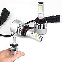 オールインワン 8000 ルーメン 1年保証 LED フォグランプ H8/H11/H16 フィット シャトル (H23/6~)