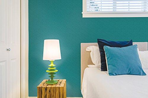 RoomClip商品情報 - 壁紙シール はがせる クロス 50×300センチ GP-11532 無地 ピーコックグリーン オリジナルスキージー付き【 のり 接着剤不要 壁紙 補修 】ウォールステッカー インテリアシート