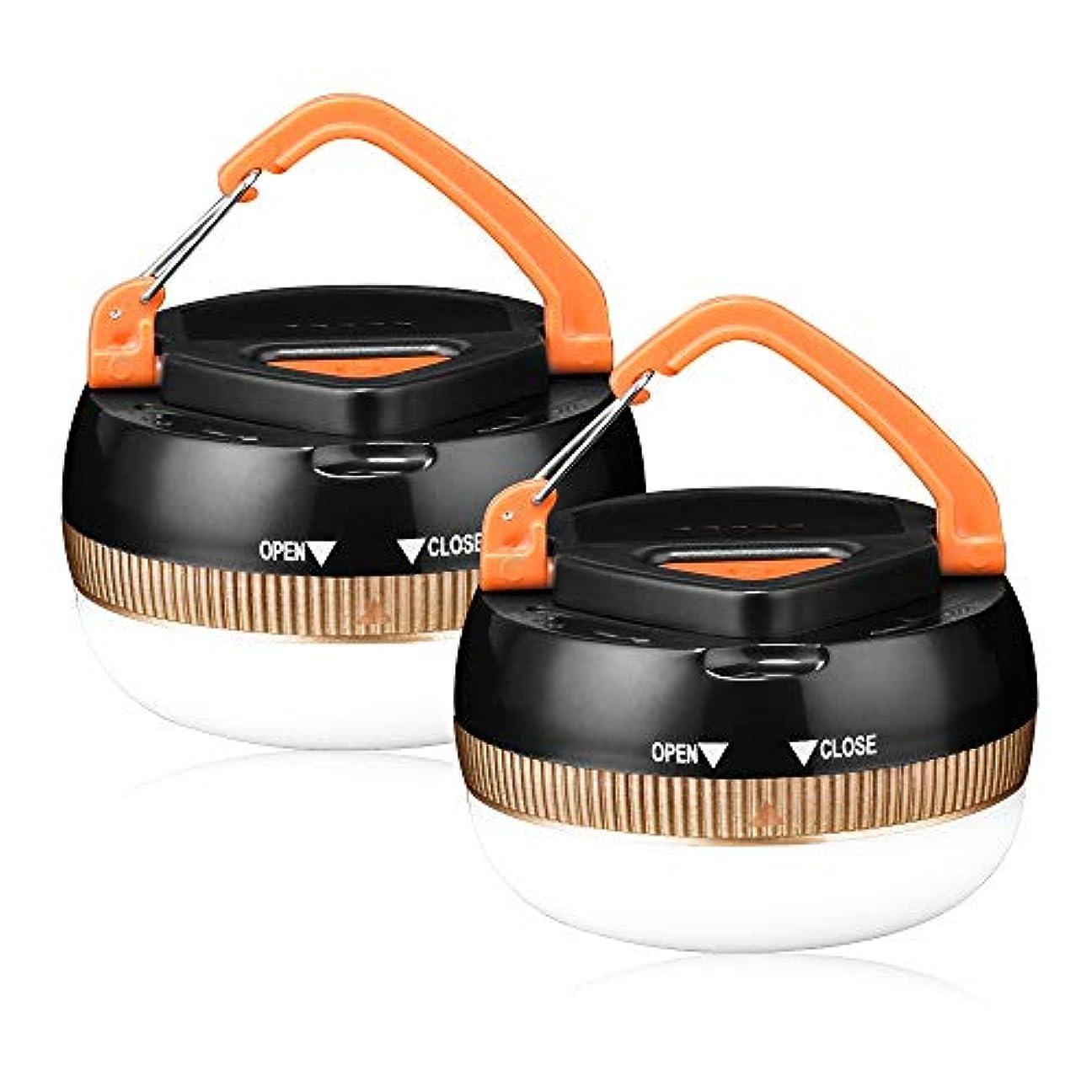 ダーツクッションチャンスLetmy LEDランタン キャンプライト 明るい 白色光 携帯型 電池 五つ点灯モード 防災対策 登山 夜釣り ハイキング アウトドア キャンプ用 2個セット