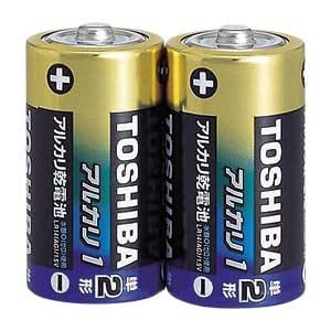 アルカリ電池(アルカリ1) 単2 2P LR14AG2KP