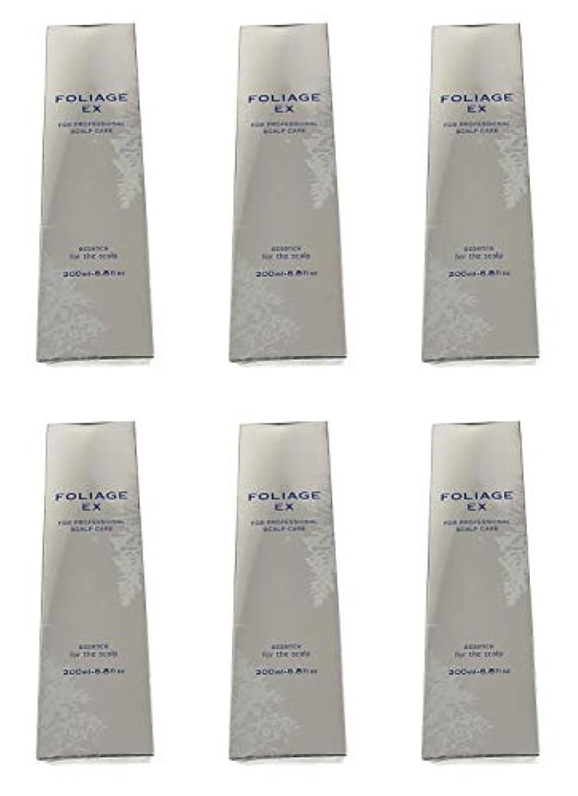 大通り誠実含める中野製薬 フォリッジ スキャルプエッセンス EX-BL 200ml [医薬部外品]×6本セット