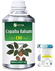 Copaiba Balsam 100% Natural Pure Essential Oil 5000ml/169fl.oz.