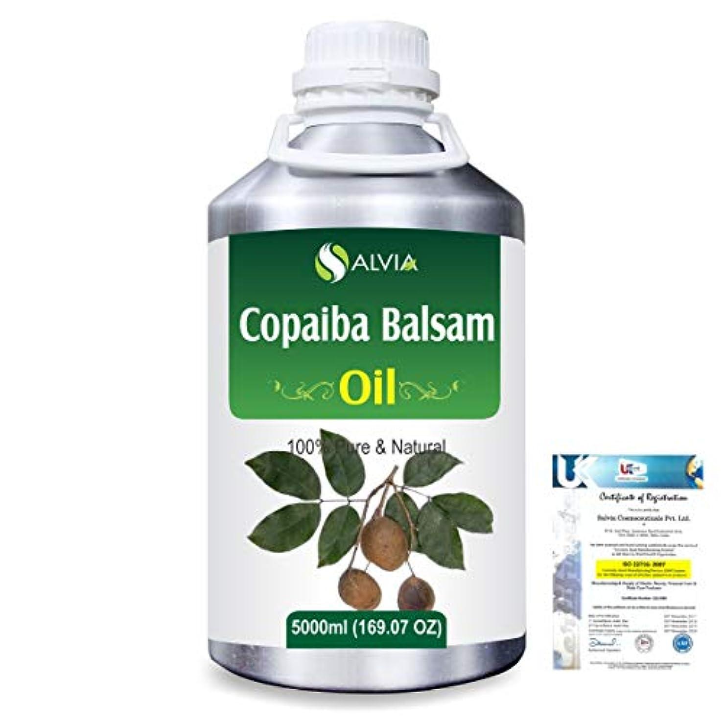 人に関する限りバックグラウンド崩壊Copaiba Balsam 100% Natural Pure Essential Oil 5000ml/169fl.oz.