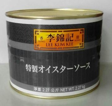 李錦記 特製オイスターソース 2270g(5LBS) 缶