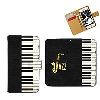 Galaxy S9 SC-02K 音楽3 手帳型 ミュージック3 ジャズピアノ スマホケース スマホカバー スマートフォンケース sc02k-k0033-01