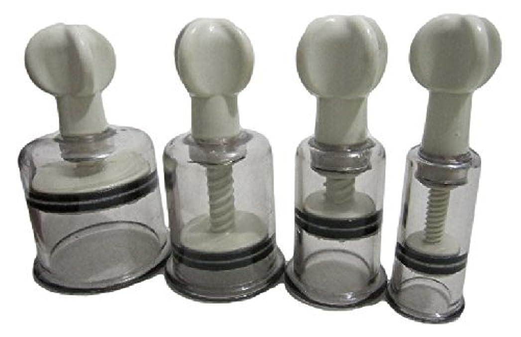 媒染剤写真くびれた自宅で ニップルサッカー 乳首 吸引器 2個セット 陥没乳首 改善マニュアル付き (S)