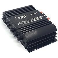 【1年間保証】 Lepy 新モデル LP-168Sデジタルアンプ+ACアダプタ 12V5A 付属 LP-168HAバージョンアップ版(ブラック)