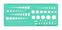 記号・図形テンプレート定規 003-003